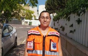Revital Curiel - Paramedic, Paramedic in charge of Negev region, EMS course instructor.