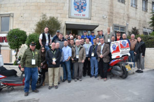 Pastors and leaders of Crow nation visit United Hatzalah with CUFI.