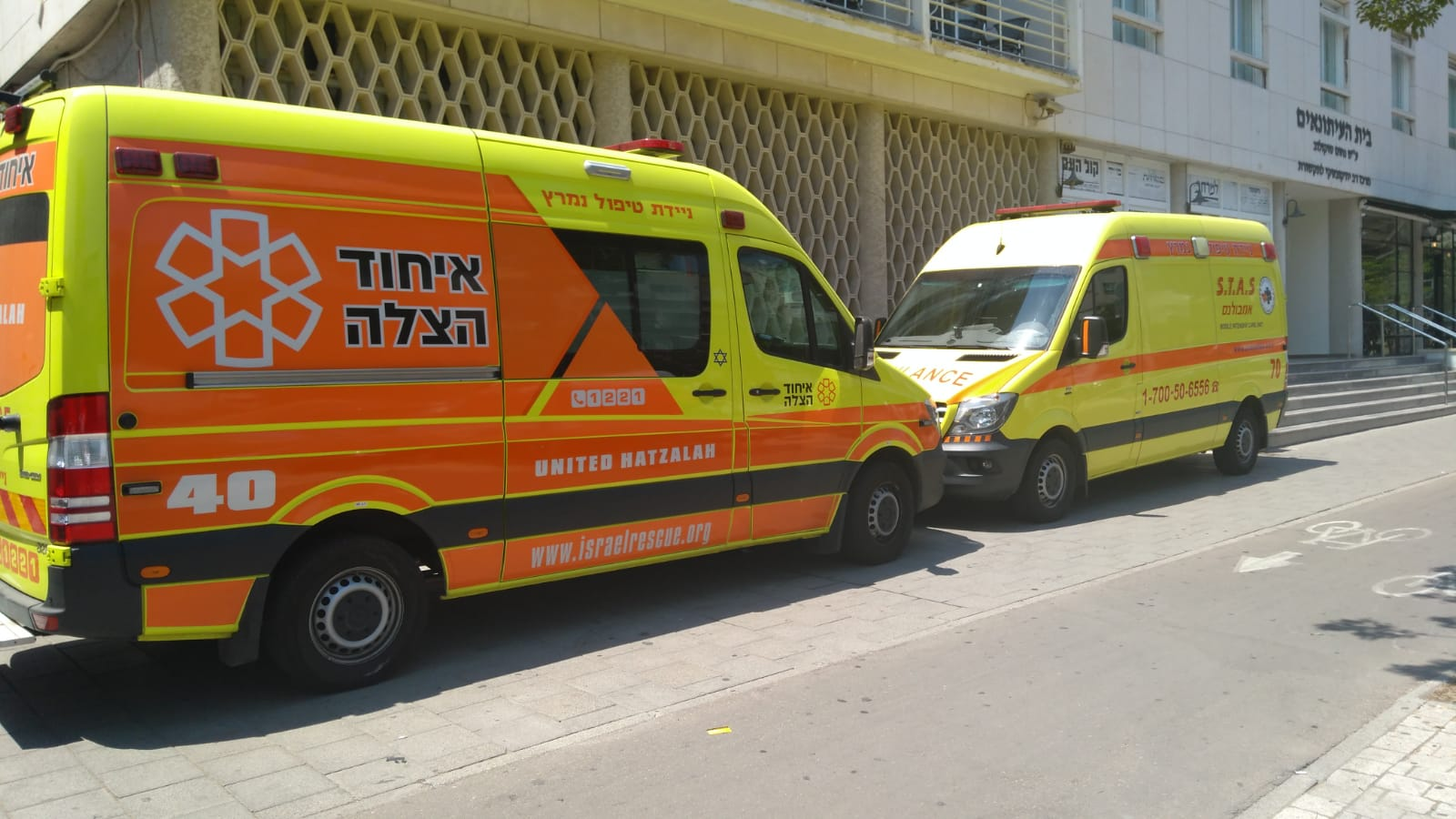 """Israelis To Benefit From New """"Doubling of Ambulances"""" Initiative"""