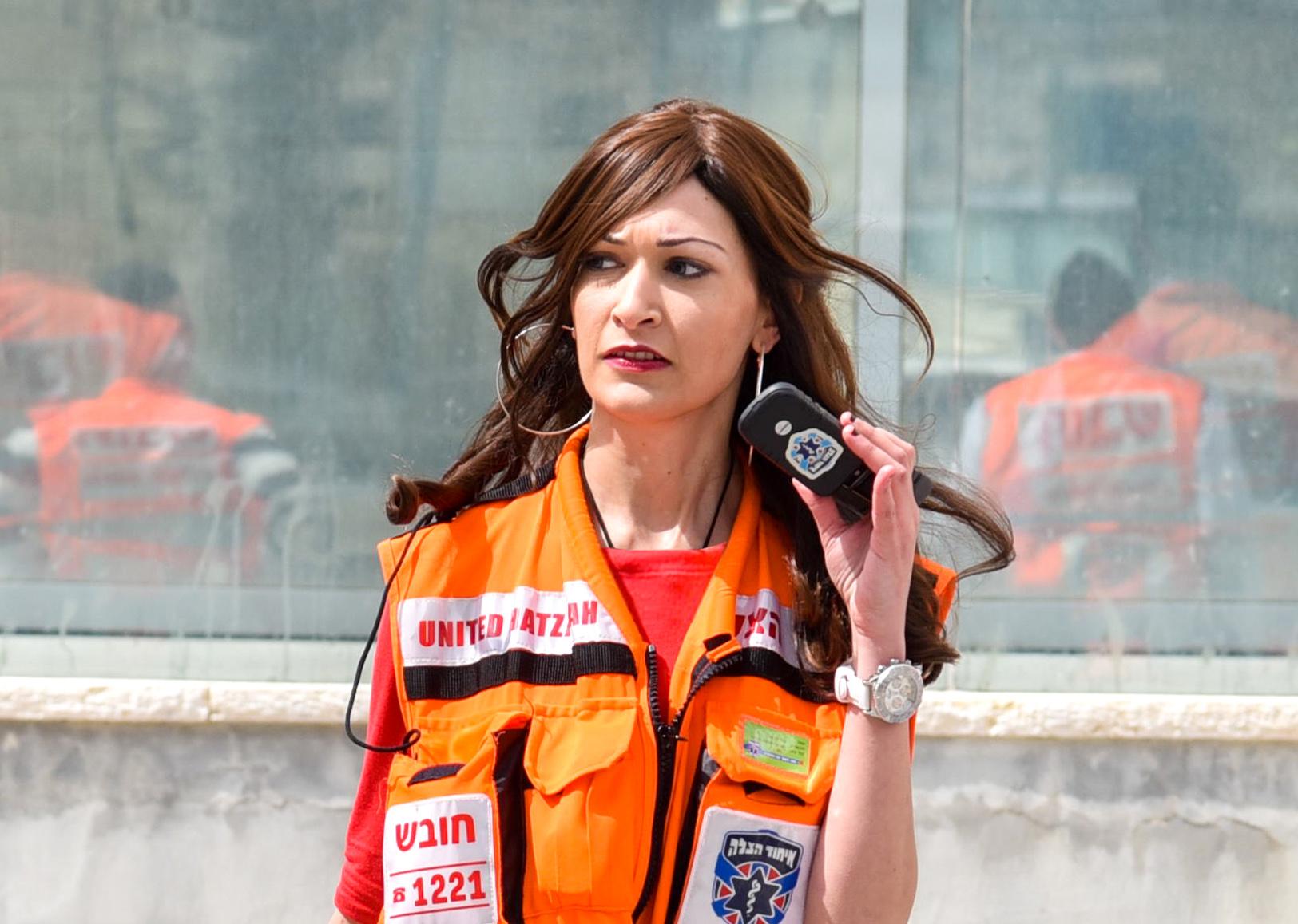 EMT on a call